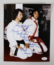 Elvis Presley Karate Instructor Kang Rhee Signed & Inscribed 8×10 Photo – COA JSA