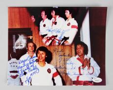 Elvis Presley Karate Instructors Kang Rhee & Wayne Carmen Signed & Inscribed 8×10 Photo – JSA Full Letter