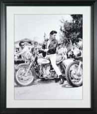 Elvis Presley Harley-Davidson Motorcycle 16x20 Photo Framed