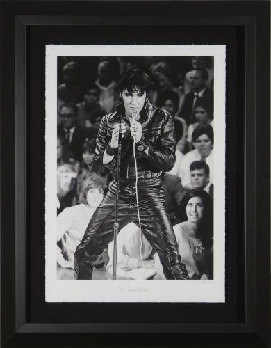 Elvis Presley '68 Comeback' Limited Fine Art Photo