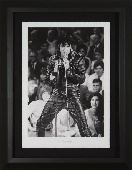 Elvis Presley '68 Comeback Limited – Fine Art Photograph Framed