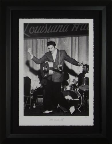 """Elvis Presley """"All Shook Up"""" Limited – Fine Art Photograph Framed"""