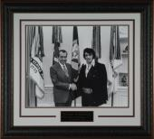 "Elvis Presley & Richard Nixon ""White House Meeting&"
