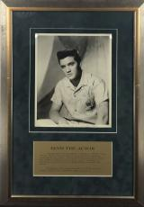 Elvis Presley Signed Autographed 8x10 Photograph Beckett BAS