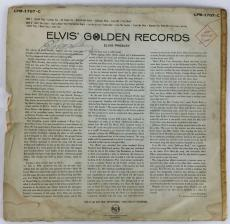 Elvis Presley Signed Autographed Golden RecordsOriginal Album LP JSA Authenti