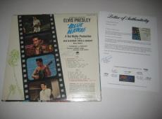 ELVIS PRESLEY Signed BLUE HAWAII Album w/ PSA LOA