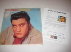 ELVIS PRESLEY Signed LOVING YOU Album w/ PSA LOA