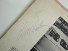 Elvis Presley Signed Record Album Jsa Certified Authentic Autograph Rare!