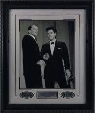 Elvis & Sinatra Framed 16x20 w/ Laser Signatures