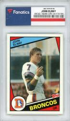 John Elway Denver Broncos 1984 Topps #63 Rookie Card - Mounted Memories
