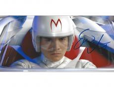 """EMILE HIRSCH as SPEED RACER in the 2008 Movie """"SPEED RACER"""" Signed 10x8 Color Photo"""