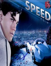 Emile Hirsch Autographed Signed Speed Racer Photo   AFTAL