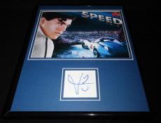 Emile Hirsch Signed Framed 11x14 Photo Display JSA Speed Racer