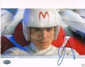 Emile Hirsch Signed Speed Racer 8x10 Photo PSA/DNA COA