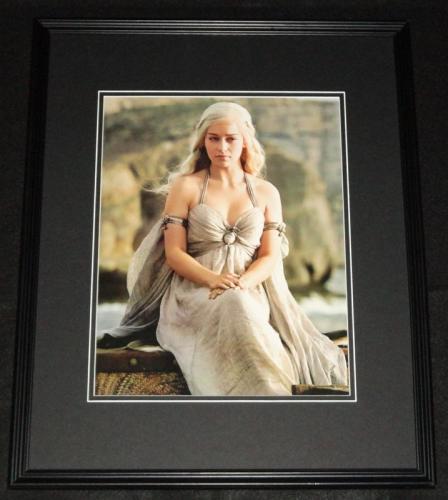 Emilia Clarke Game of Thrones Framed 11x14 Photo Poster