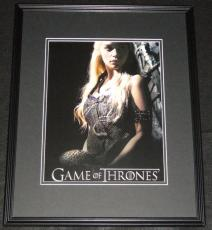 Emilia Clarke Game of Thrones Framed 11x14 Photo Poster B