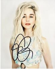Emilia Clarke Signed - Autographed Game of Thrones Actress 8x10 inch Photo - Guaranteed to pass PSA or JSA - Daenerys Targaryen