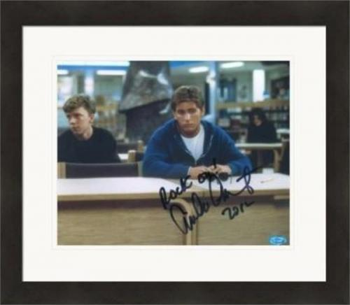 Emilio Estevez autographed 8x10 photo (Breakfast Club) #SC22 Matted & Framed