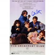 Emilio Estevez Signed 11x17 The Breakfast Club (SchwartzSports Auth)