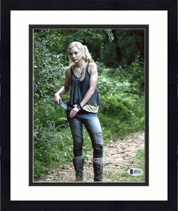 Emily Kinney The Walking Dead Signed 8X10 Photo BAS #B91752