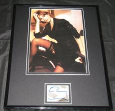 Emily Mortimer SEXY Stockings Signed Framed 11x14 Photo Display
