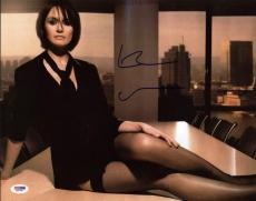 Emily Mortimer The Newsroom Signed 11x14 Photo Psa/dna #x31209