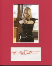 Emily Procter CSI Miami West Wing Star Sexy Signed Autograph Photo Display