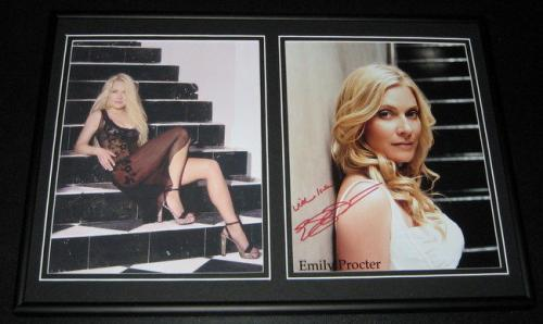 Emily Procter SEXY Signed Framed 12x18 Photo Set CSI Miami