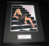 Emily Procter SEXY Signed Framed 16x20 Photo Display JSA CSI Miami