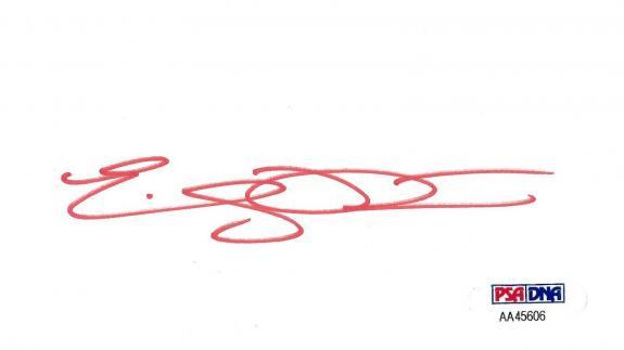 Emily Procter Signed 3x5 Index Card PSA/DNA COA Auto CSI Miami Leaving Las Vegas