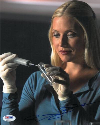 Emily Procter Signed CSI Miami Authentic Autographed 8x10 Photo PSA/DNA #H60330