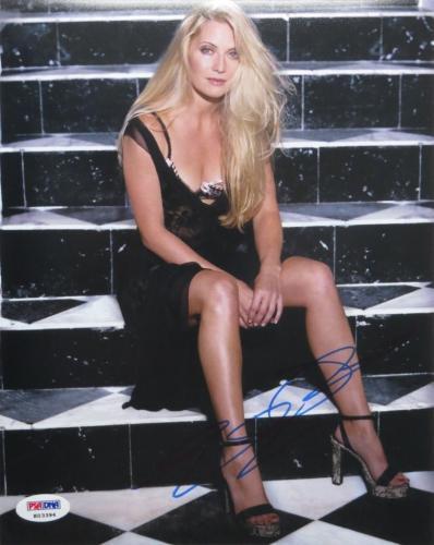 Emily Procter Signed CSI: Miami Authentic Autographed 8x10 Photo PSA/DNA #K03394