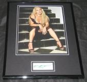 Emily Procter Signed Framed 11x14 Photo Display JSA CSI Miami