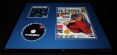 Eminem 16x20 Framed ORIGINAL 2002 Blender Magazine Cover & Encore CD Display