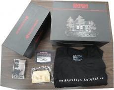 Eminem Autographed House Brick, Dog Tag, Cassette Tape Large T-shirt Signed COA