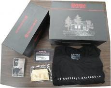 Eminem Autographed House Brick, Dog Tag, Cassette Tape Large T-shirt Signed COA