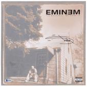 Eminem Autographed The Marshall Mathers Album Cover- BAS COA