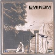 Eminem Autographed The Marshall Mathers LP Album Cover - BAS