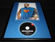 Eminem Framed 12x18 Encore CD & Photo Display