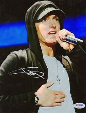 Eminem Marshall Mathers Signed 8x10 Photo PSA DNA COA LOA Autograph Slim Shady
