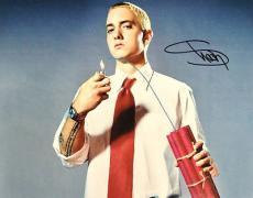 Eminem Shady Marshall Mathers signed 11x14 Early Photo with Dynamite COA REAL!