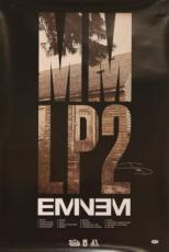 "Eminem ""shady"" Signed 24x36 Mm Lp2 Poster Autographed Psa/dna #w06219"