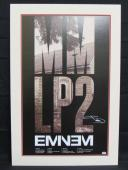 Eminem Shady Signed Auto Autograph 24x36 MM LP2 Poster PSA/DNA Z00570