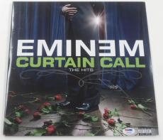 Eminem Shady Signed Curtain Call Album Vinyl Authentic Autograph Psa/dna Loa