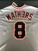 Eminem Signed Auto Detroit Tigers Jersey Bas Beckett Coa Marshall Mathers Shady