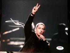 Eminem Signed Autograph Extremely Rare Classic Rap Legend Psa/dna Loa Z03744