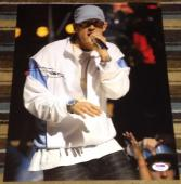 Eminem Signed Autograph New Extremely Rare Rap Legend 11x14 Photo Psa/dna V04625