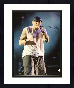 Eminem Signed Autograph Slim Shady Classic Stage Rare 11x14 Photo Psa/dna V13013