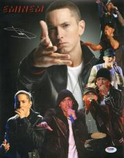 "EMINEM Signed Autographed ""Slim Shady"" 11x14 Photo PSA/DNA #X01479"