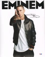 """EMINEM Signed Autographed """"Slim Shady"""" 11x14 Photo PSA/DNA #X01480"""